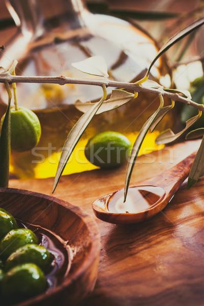Olive oil Stock photo © mythja