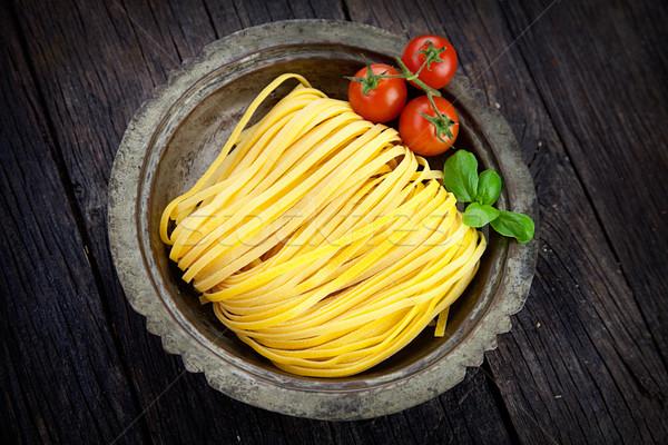 Fresh pasta Stock photo © mythja