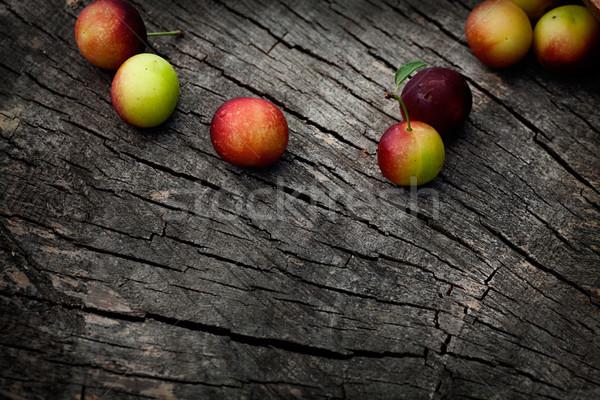 Fresh wild plum Stock photo © mythja