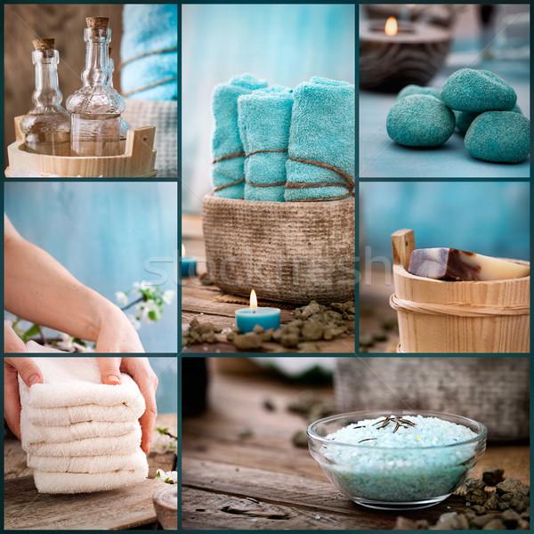 Spa collage Stock photo © mythja
