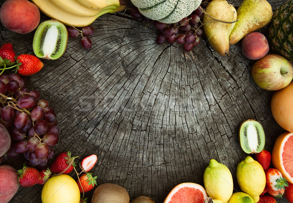 Fruit background. Stock photo © mythja