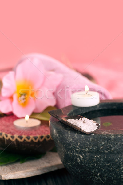 Spa setting in pink tones Stock photo © mythja