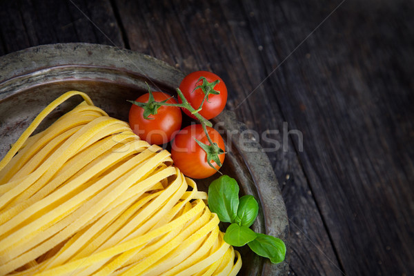 Fresh pasta Stock photo © mythja