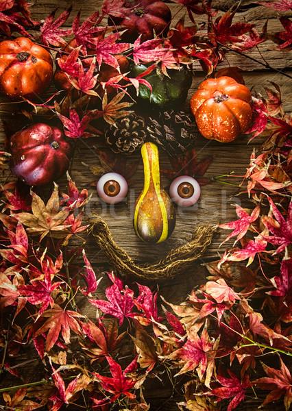 紅葉 木材 秋 赤 葉 自然 ストックフォト © mythja