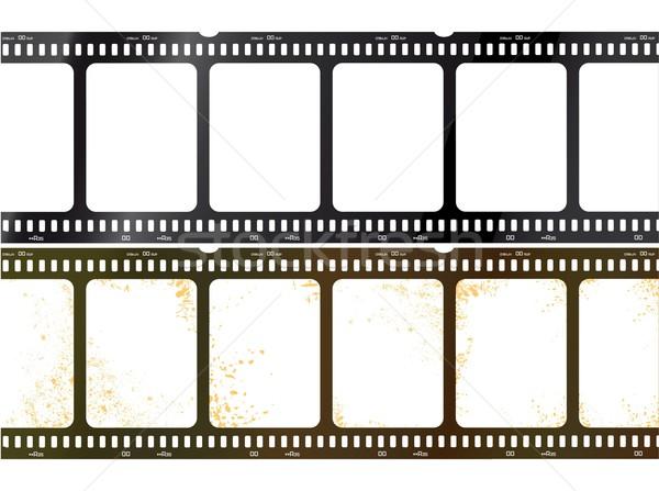 Isolado filme ícone casa filme vídeo Foto stock © Myvector