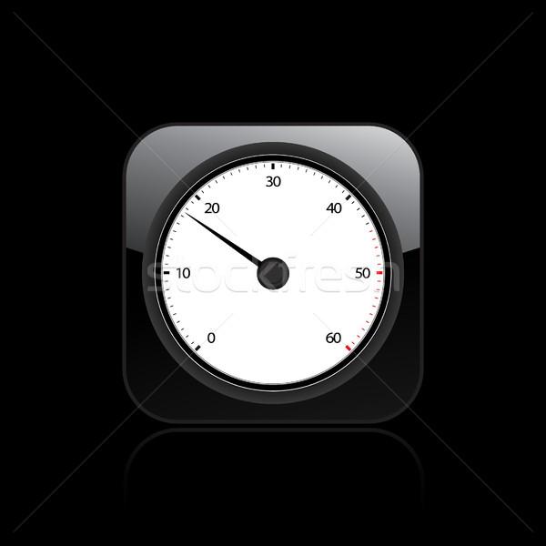 Tachometer icon  Stock photo © Myvector