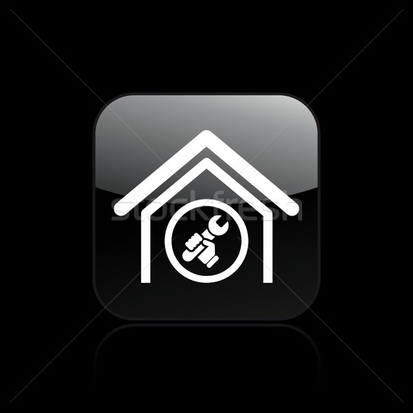 Adjust home icon Stock photo © Myvector