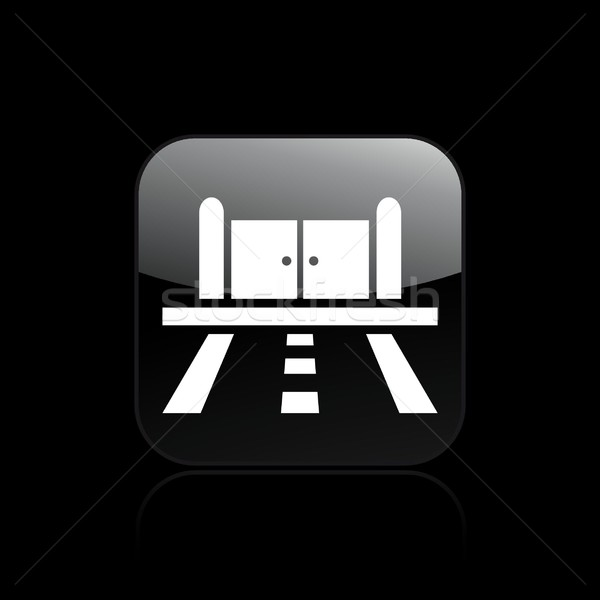 Road doors icon Stock photo © Myvector