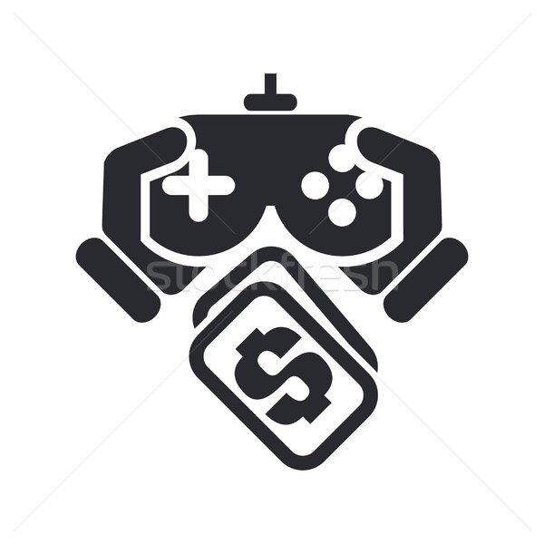 Videogame price icon Stock photo © Myvector