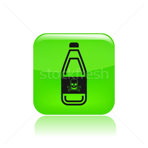 Bottle icon Stock photo © Myvector
