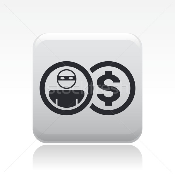 Thief icon Stock photo © Myvector