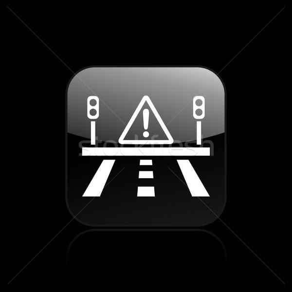 Danger road icon  Stock photo © Myvector