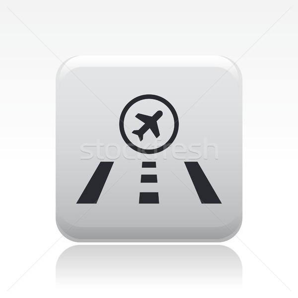 Airstrip icon Stock photo © Myvector