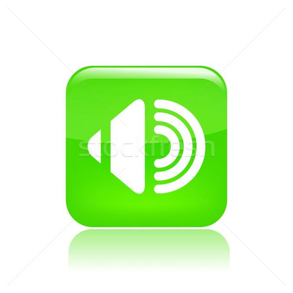Сток-фото: аудио · икона · музыку · дизайна · оратора · стерео