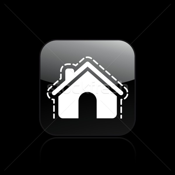 House protection icon Stock photo © Myvector