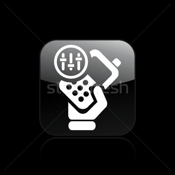 Phone levels icon Stock photo © Myvector