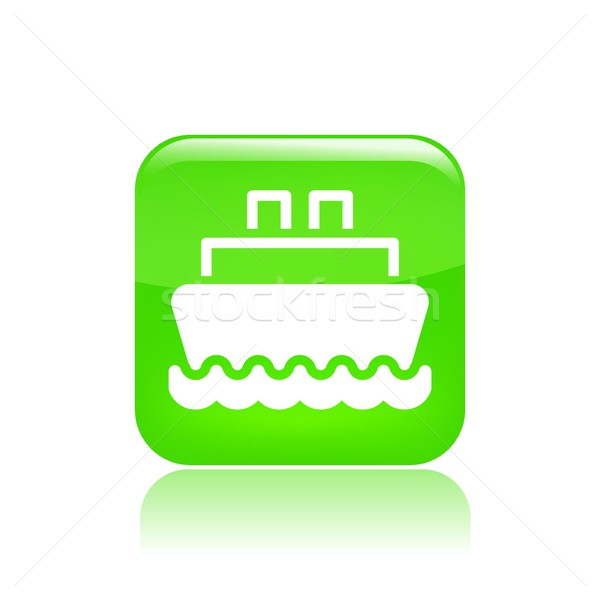 Navy icon Stock photo © Myvector