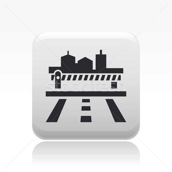 Frontier icon Stock photo © Myvector