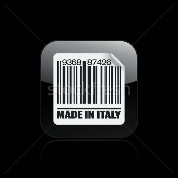 Италия икона рынке чернила Европа Label Сток-фото © Myvector