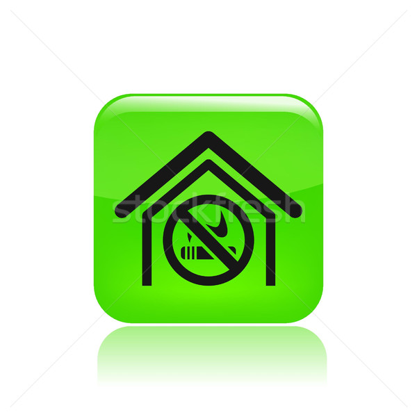 No smoking zone icon  Stock photo © Myvector
