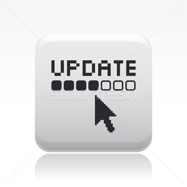обновление икона мыши компьютеры веб WWW Сток-фото © Myvector