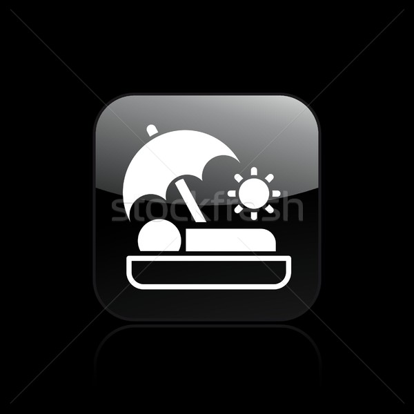 Summer holiday icon Stock photo © Myvector