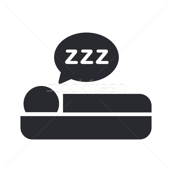 Sleep icon Stock photo © Myvector