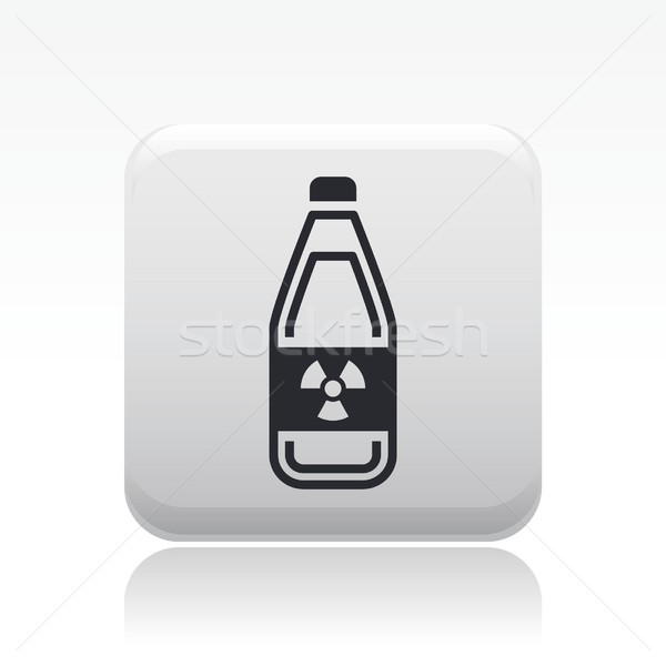 Radioactive bottle icon  Stock photo © Myvector