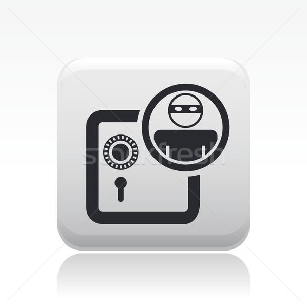 вора икона домой безопасной страхования защиту Сток-фото © Myvector