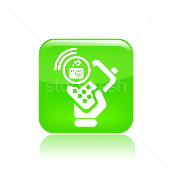 Radio phone icon Stock photo © Myvector