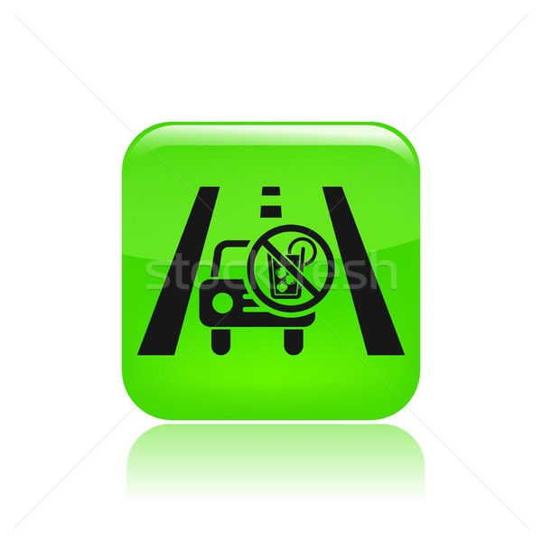 Drive not drunk icon Stock photo © Myvector