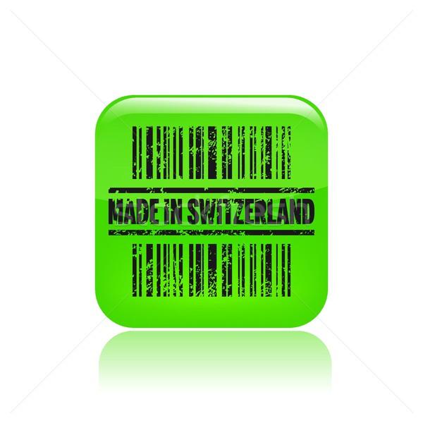 Print icon markt kaart label barcode Stockfoto © Myvector