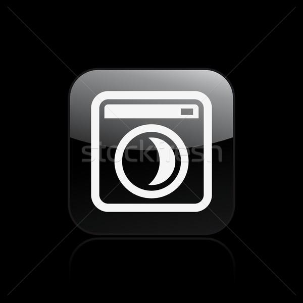 Sleep pc icon Stock photo © Myvector