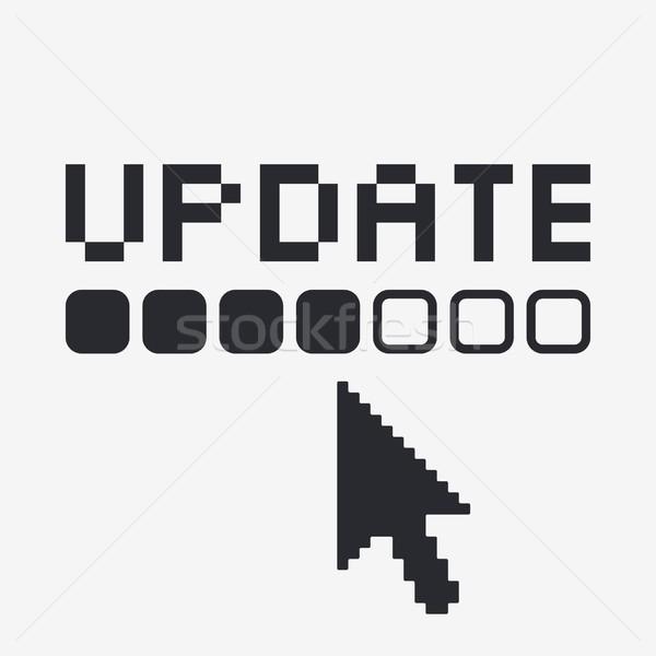 Update icon Stock photo © Myvector