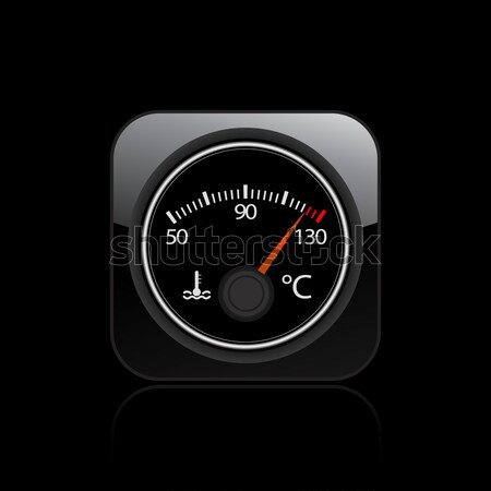 Temperature icon Stock photo © Myvector