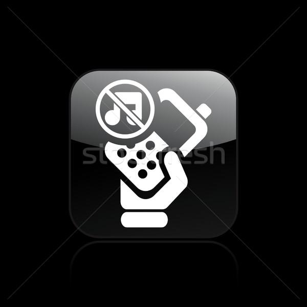 Kısmak telefon ikon ses Stok fotoğraf © Myvector