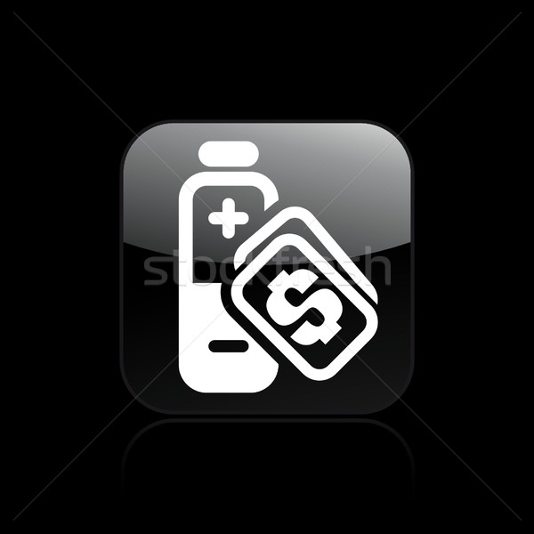 Charge cost icon Stock photo © Myvector