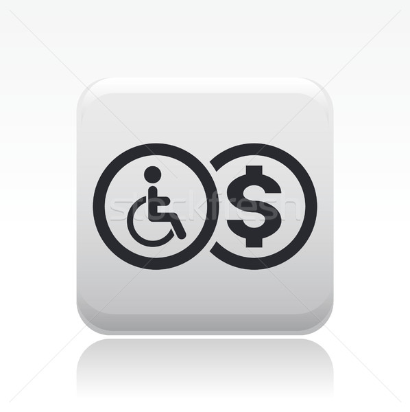 Handicap icon  Stock photo © Myvector