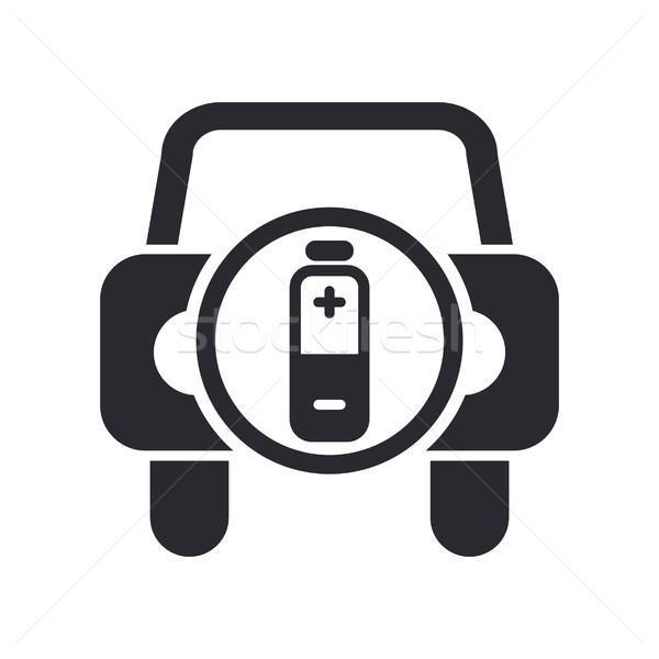 Car energy icon Stock photo © Myvector