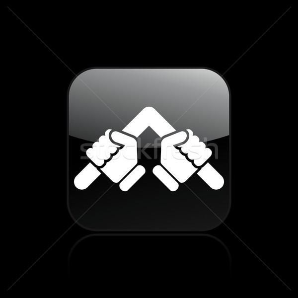 Fold icon Stock photo © Myvector