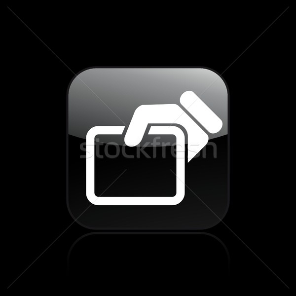 Doc icon Stock photo © Myvector