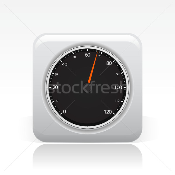 Tachometer icon  Stock photo © Myvector