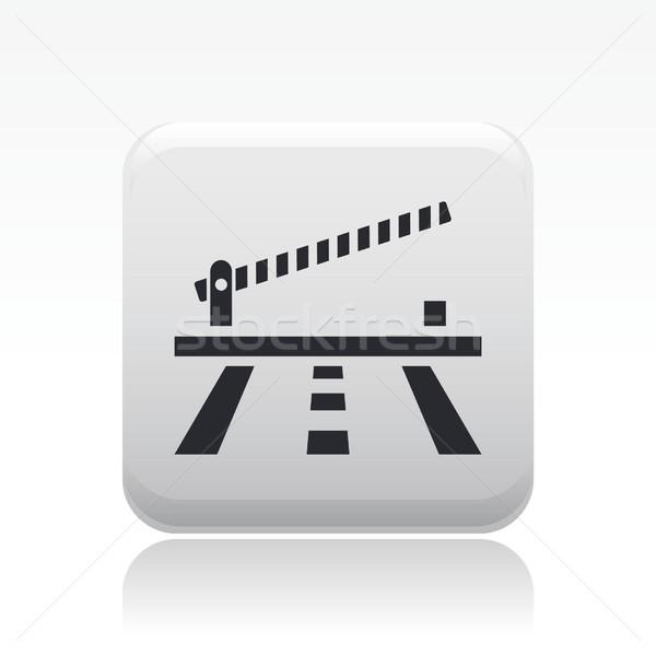 Barrier icon Stock photo © Myvector