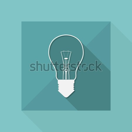 синий серый икона энергии фантазий Сток-фото © Myvector