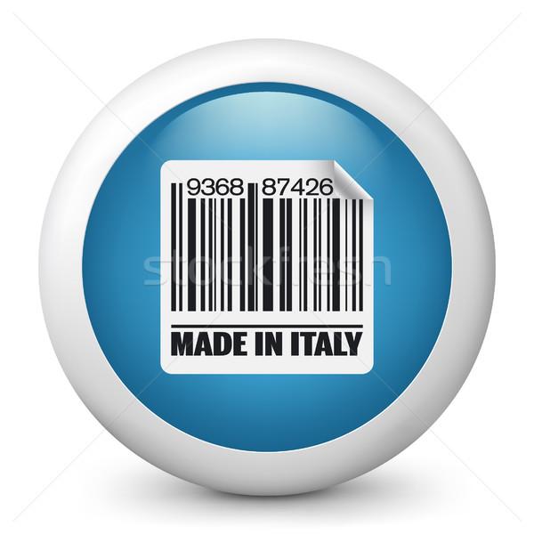 Kék fényes ikon piac tinta Európa Stock fotó © Myvector