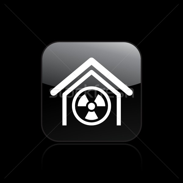 Radioactive icon Stock photo © Myvector