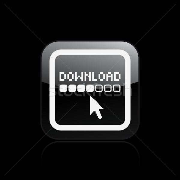 Download icon Stock photo © Myvector