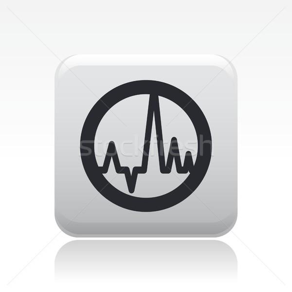 Stockfoto: Golf · audio · icon · moderne · stijl · symbool · muziek