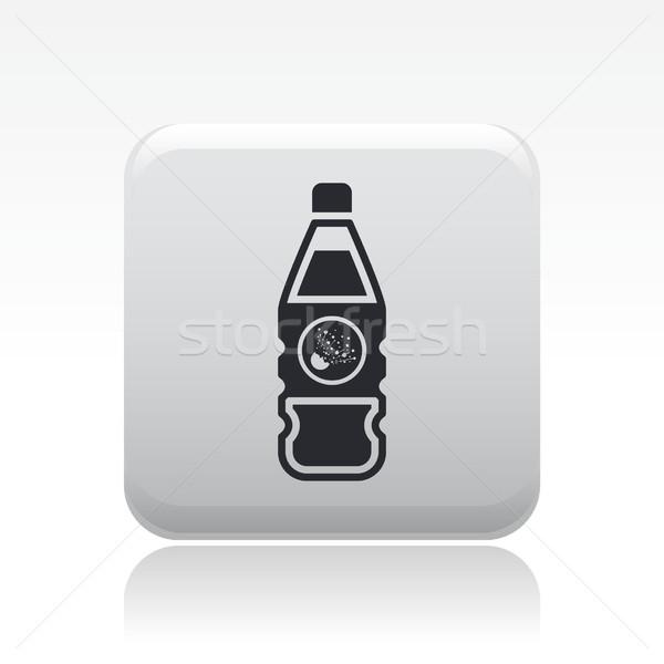 Dangereux bouteille icône contenant Photo stock © Myvector