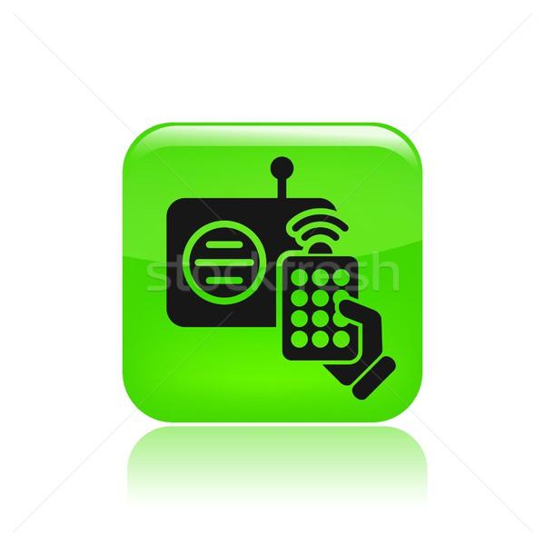 Remote radio icon Stock photo © Myvector